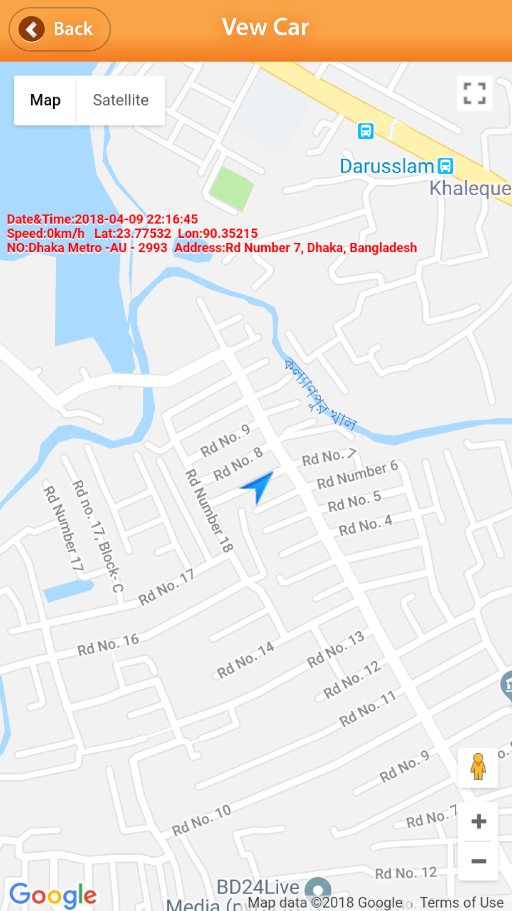 RealTrac BD – Vehicle Tracking Service in Bangladesh